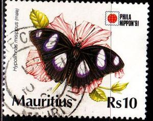 MAURITIUS [1991] MiNr 0733 ( O/used ) Schmetterlinge