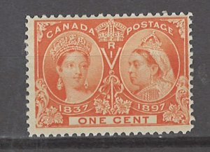 COLLECTION LOT # 3084 CANADA #51 MH 1897 CV+$30