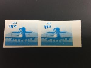 3262Pa $11.75 Pair Of Space Proofs   On Coated Paper. Scott Listed