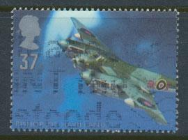 Great Britain SG 1986  Used  - British Aircraft Designers