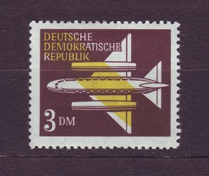 J23577 JLstamps 1957 germany DDR part of set mh #c15 airplane