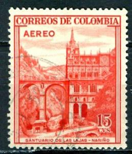 Colombia; 1954: Sc. # C241: O/Used Single Stamp