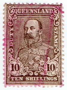 (I.B) Australia - Queensland Revenue : Stamp Duty 10/-