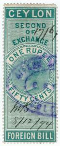(I.B) Ceylon Revenue : Foreign Bill 1R 50c (Second)