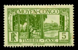 Middle Congo 1933 #J23 MH SCV(2018)=$0.70