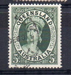 AUSTRALIA - 1960 - QUEENSLAND - 100 YEARS - Used -
