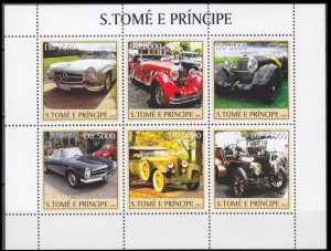 2003 Sao Tome and Principe 2229-34KL Cars / Mercedes Benz 11,00 €