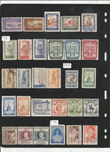 DOMINICAN REPUBLIC COLLECTION ON STOCK SHEET, MINT/USED