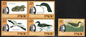 Palau # 63-66, C5 ~ Cplt Set of 5 ~ Mint, NH