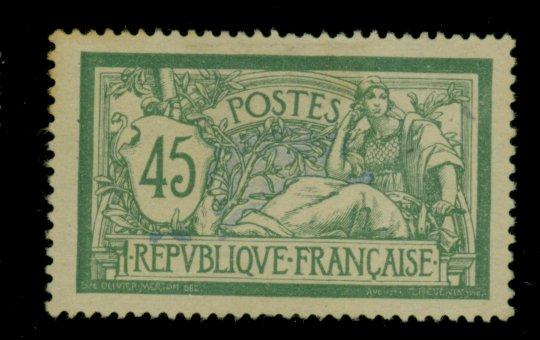 France #122 MINT VF No gum Cat$29