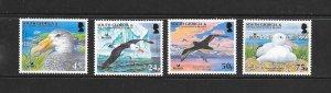 BIRDS - SOUTH GEORGIA #339-42   PETREL & ALBATROSS   MNH