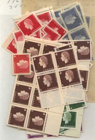 Canada - 1963 Cameo Issue X 50 Sets mint #401-405