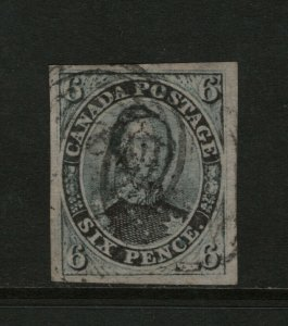Canada #2 Very Fine Used **With Certificate**