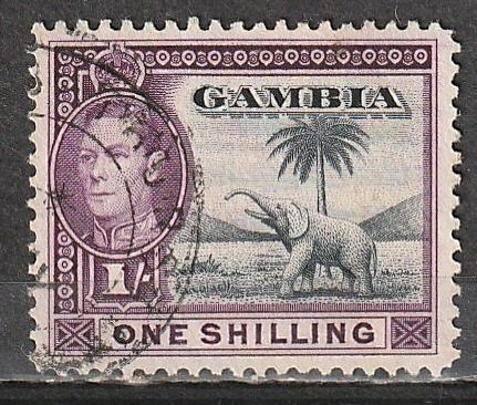 #138 Gambia used George VI