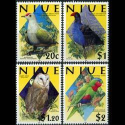 NIUE 2000 - Scott# 742-5 Birds Set of 4 NH
