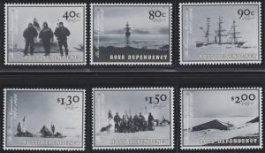 New Zealand - Ross Dependency L73-L78 MNH (2002)