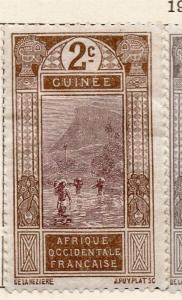 French Guinea 1913 Early Issue Fine Mint Hinged 2c. 105190