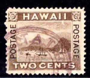 Hawaii #75, Hanalei 281.01 CDS Rarity 4 -- 150-250 examples