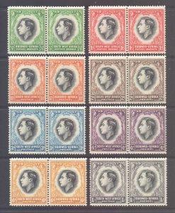 SWA Scott 125/132 - SG97/104, 1937 Coronation Set MH*