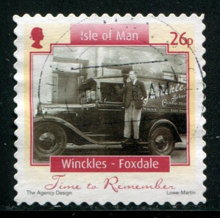 1113 26p Photograph - Winckles - Foxdale SA, used