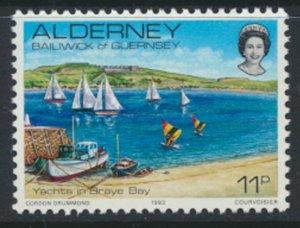 Alderney  SG A5  SC# 5 1983 Definitive  Yachts   MNH  see scan
