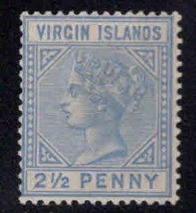 Virgin Islands  Scott 15 MH* Queen Victoria stamp