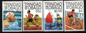Trinidad And Tobago #412-5 MNH  CV $6.50 (P747)