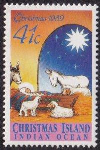 Christmas Island #243 Mint