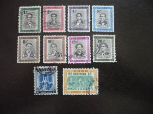 Stamps  - Cuba - Scott# 490-497,C73-C74 - Used Set of 10 Stamps