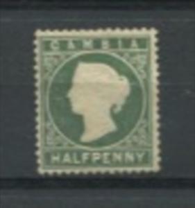 Gambia 1886-7 Sc 12 MNH (No Gum) Queen Victoria