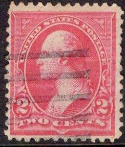 US Stamp #267 Carmine Type III USED SCV $.50