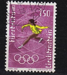 LIECHTENSTEIN [1971] MiNr 0554 ( O/used ) Sport