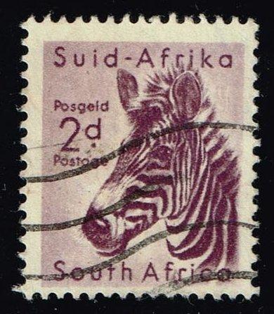 South Africa #203 Zebra; Used (0.25)