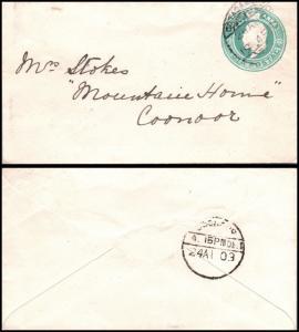 Goldpath: India postal stationery 1903  _CV23_P12