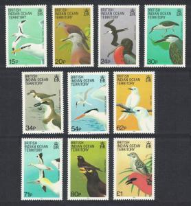 BIOT Birds 10v SG#90=101 CV£20+