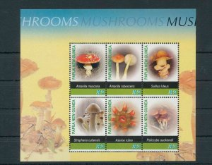 Papua New Guinea MNH S/S 1180 Mushrooms 2005