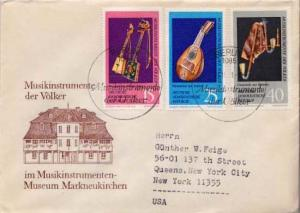 Germany D.D.R., First Day Cover, Music