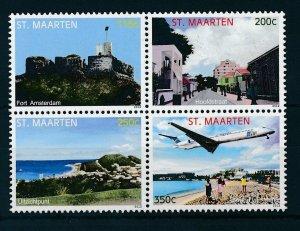 [SM108] St. Martin Maarten 2012 Tourism AirportMNH