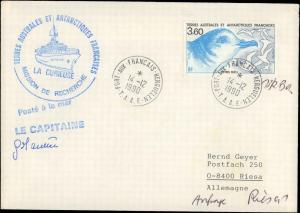 French Southern & Antarctic Territory #204, Antarctic Cachet and/or Cancel