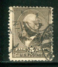 United States Scott # 205, used