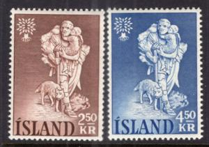 Iceland 325-326 MNH VF