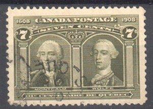 Canada #100 USED CDS C$150.00