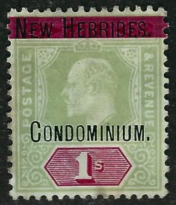 British New Hebrides Sc#9  Mint F-VF hr  ...English Colonies are Hot!