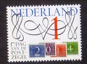 Netherlands  2014 MNH stamp day   complete