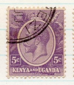 Kenya Uganda 1922 GV Early Issue Fine Used 2c. 198419