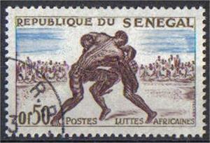 SENEGAL, 1961, used 50c, Scott 202