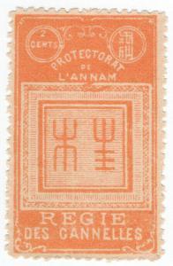(I.B) France Colonial Revenue : Annan & Tonkin Cinnamon Tax 2c