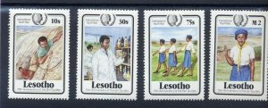 1985 Scouts Lesotho Girl Guides 75th anniversary IYY