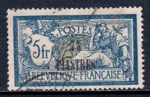 France (Offices in Turkey) - Scott #49 - Used - See description - SCV $7.50