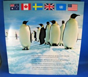 OUR WORLD 1989  -  VOLUME 1 - 6 POSTAL ADMINISTRATIONS      MNH     (SM6)